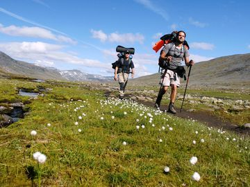 Kungsleden, Sweden. One of National Geographic's Top 15 Best Hikes - Abisko Mountain Station to the Saami Village of Nikkaluokta