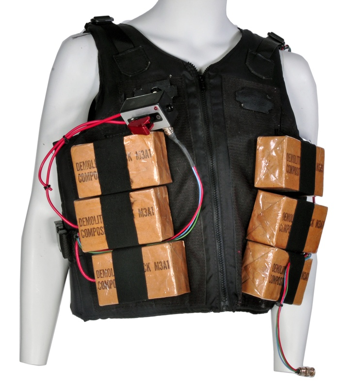 Jackie Chan bomb vest from Rush Hour