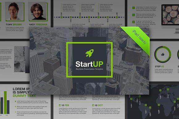 23 best presentations images on pinterest presentation layout startup keynote template toneelgroepblik Gallery