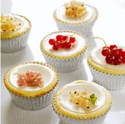 Roomkaas Cupcakes met Zure Room Topping