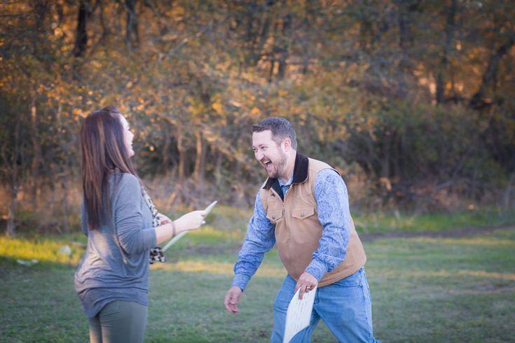 Baby Announcement Photos: Surprise, Honey, I'm Pregnant!