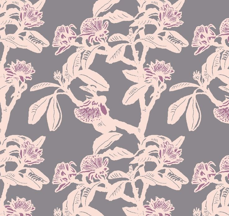 Shark Bay Rose - Vintage textiles and wallpaper