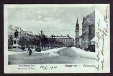 89599 AK Sopron Ödenburg um 1900 Ev. Templon Kirche