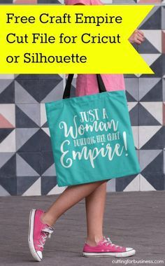 Free Craft Empire SVG Cut File for Silhouette Cameo or Cricut Explore - by…