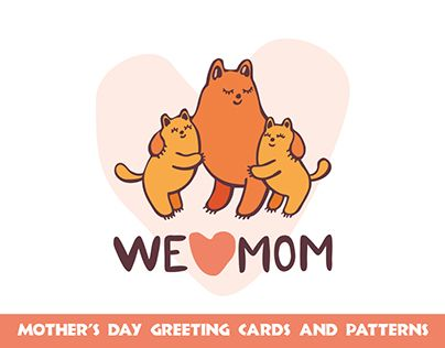 "Check out new work on my @Behance portfolio: ""Funny cats. Mother's day greeting cards and patterns"" http://be.net/gallery/52352263/Funny-cats-Mothers-day-greeting-cards-and-patterns"