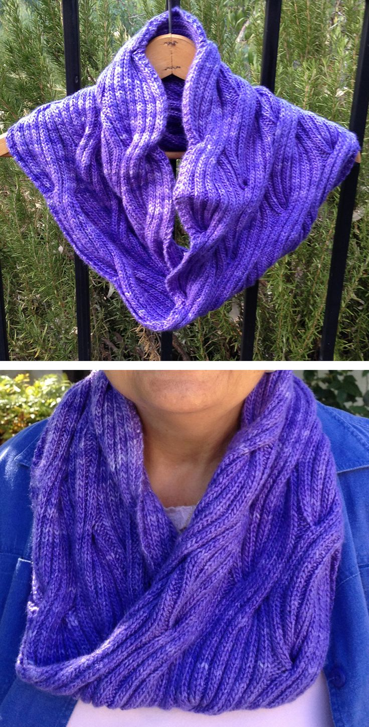 1837 best free knitting patterns images on pinterest shawl free knitting pattern for winding river cowl this reversible cowl features a ribbed cable pattern bankloansurffo Gallery