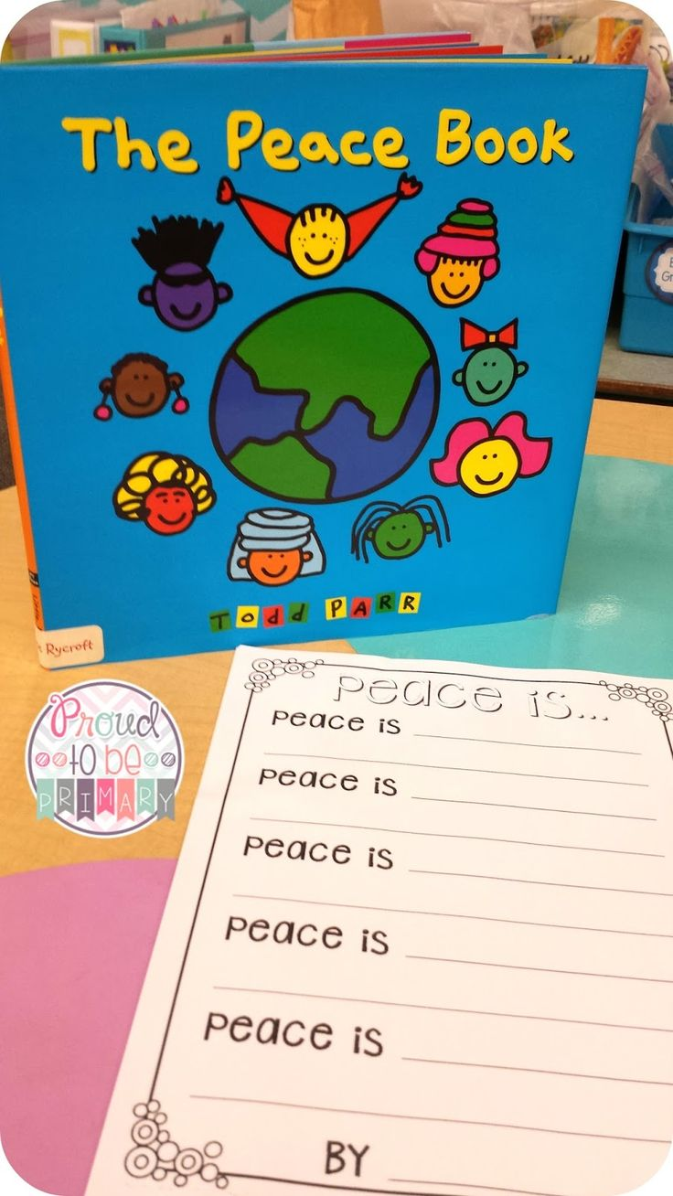 Proud to be Primary Peace Perfect for the beginning of the year or November.