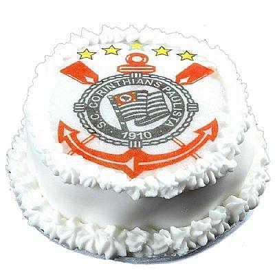 Mini Bolo Confeitado Corinthians