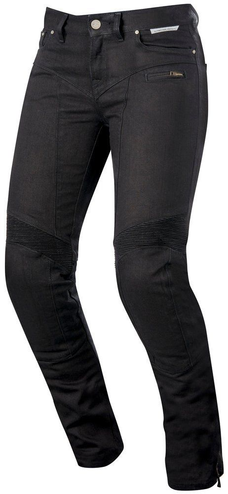 So flattering! - Alpinestars Womens Stella Riley Armored Denim Riding Pants
