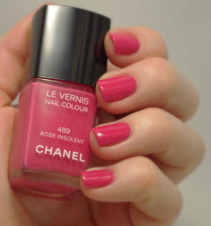 Chanel Rose Insolent #489 Artificial lightning