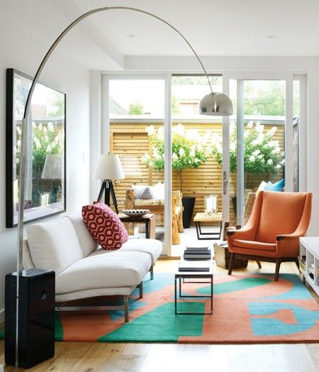 Overarching Floor Lamp Living Rooms