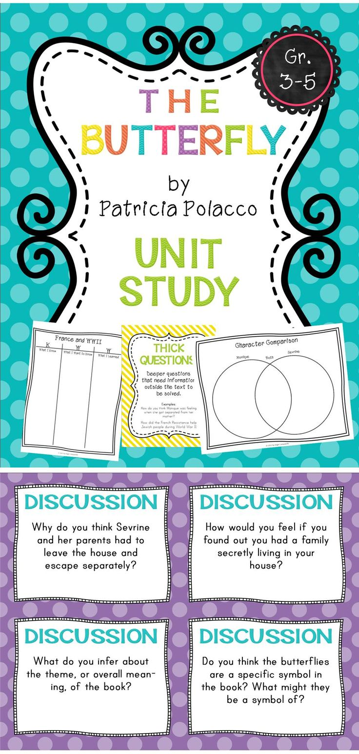 A unit study based on Patricia Polacco's book. Perfect for grades 3-5. $