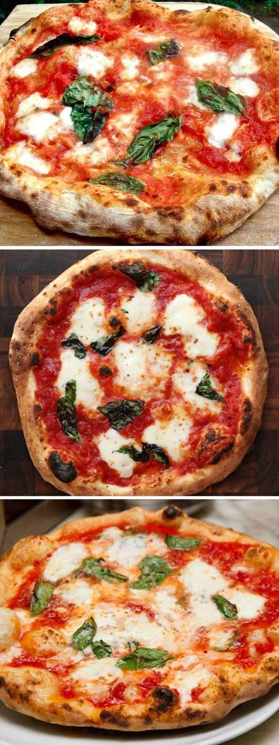 Pizza Italiana, Receta paso a paso para hacer la masa y la salsa tradicional italiana