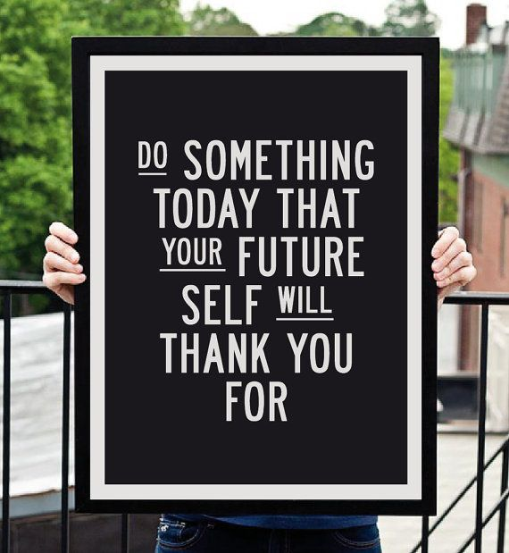"""""""Do Something"""" Motivational Inspirational Print Quote Art by TheMotivatedType, $12.00"""