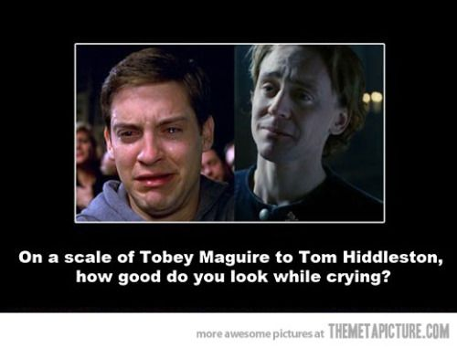 Lol. Poor Tobey Maguire?