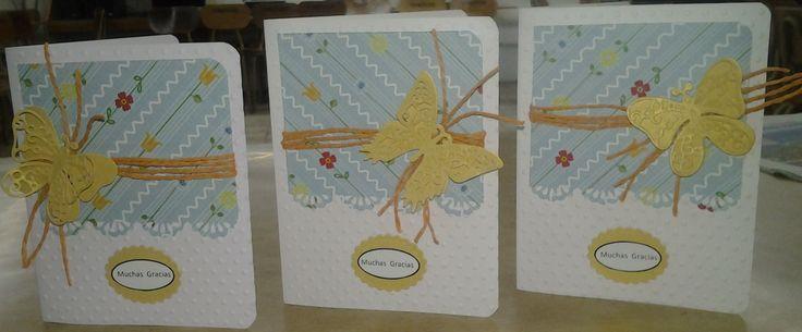 tarjetas agradecimientos