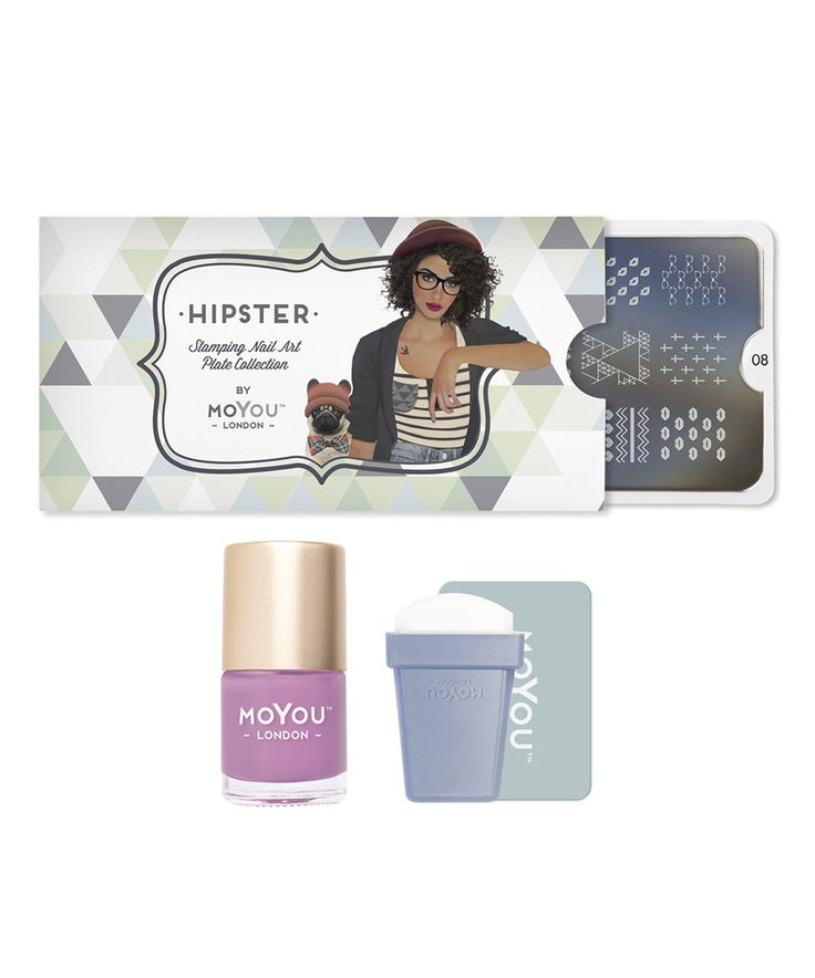 Another great find on #zulily! Hipster Nail Art Stamp Plate Starter Set by MoYou London #zulilyfinds