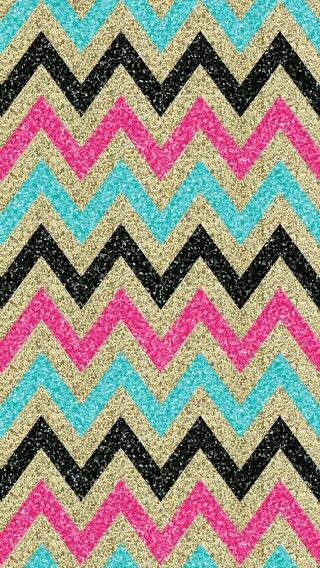 glitter chevron wallpaper-#8
