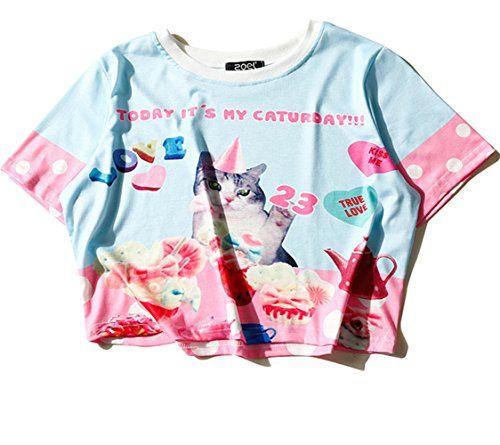 (シーファニー)Cfanny レディース Tシャツ ショット丈 チェック 半袖 プリント T3655 藍 Cfanny https://www.amazon.co.jp/dp/B06XDKQ4GW/ref=cm_sw_r_pi_dp_x_VUj3ybKJ2JCRP