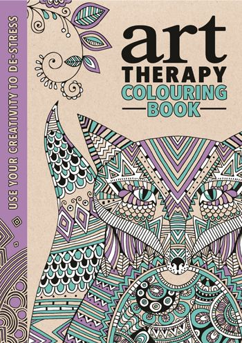 The Art Therapy Colouring Book Richard Merritt 9781782432227