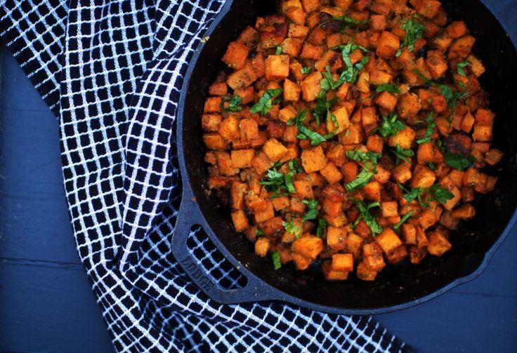 Cheesy Sweet Potatoes