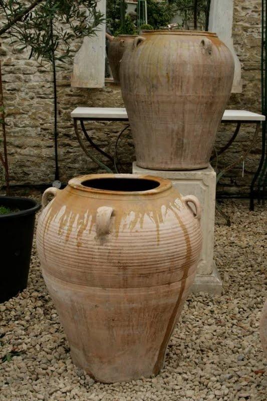 17 best images about olive jar planters on pinterest. Black Bedroom Furniture Sets. Home Design Ideas
