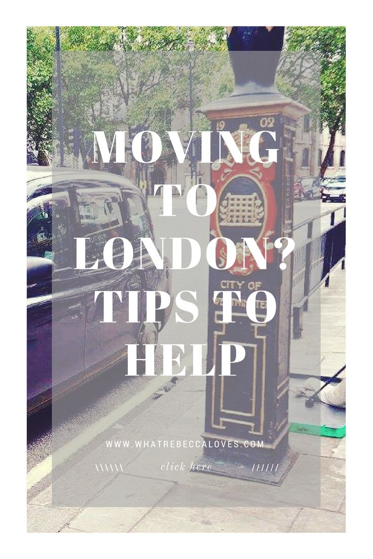Tips to help you move to London: national insurance number, visas, opening a bank account, travel insurance on a one-way flight | What Rebecca Loves