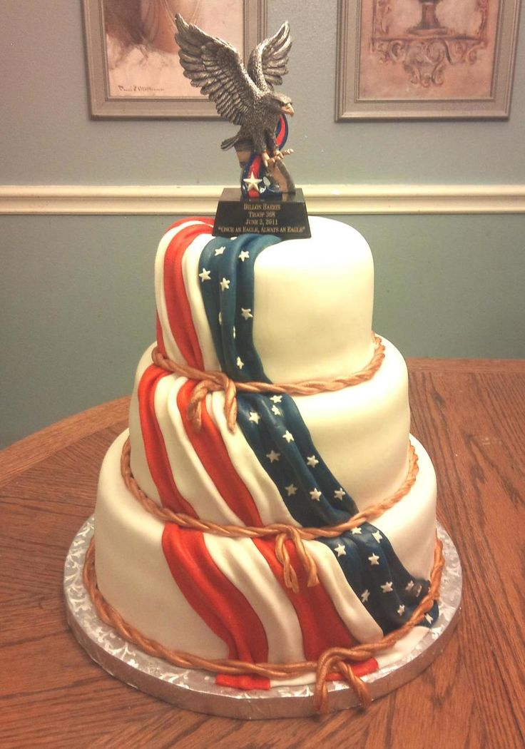 Eagle Scout Award on Cake Central