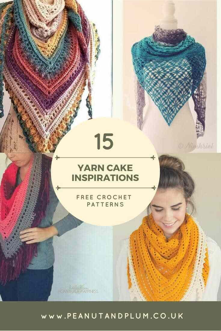 15 free crochet patterns to inspire your next yarn cake project ...