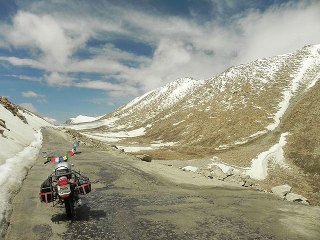 This is Chang La, Ladakh....my recent road trip or say Motorcycle diaries