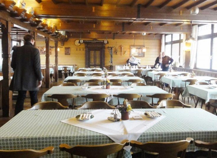 Easter Sunday at traditional Bavarian restaurant