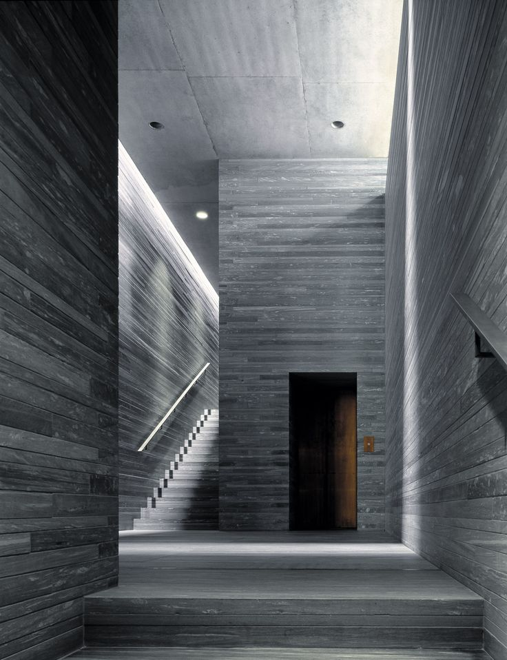 Nick Kane photography #architecture #interior Therme, Vals, Switzerland. Architect - Peter Zumthor.