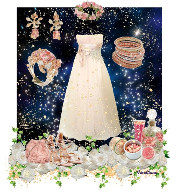 """Romantic Summer Night..."" by fiordiluna on Polyvore"