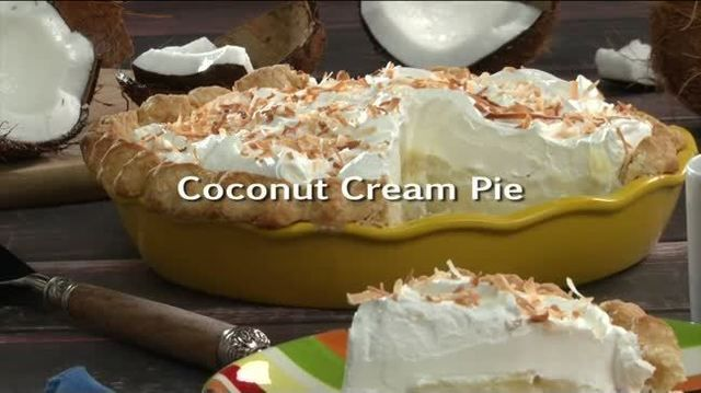 Mr. Food: Coconut Cream Pie