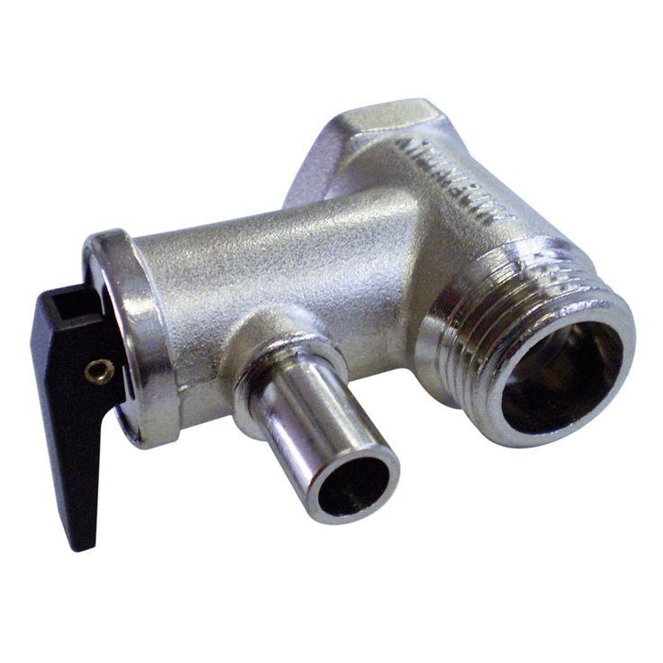 Quick Pressure Relief Valve f/All Sigmar & B3 Heaters