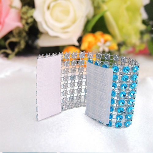 Kristall Serviettenringe Serviettenhalter Halter Für Servietten Dekoration Dekor | eBay