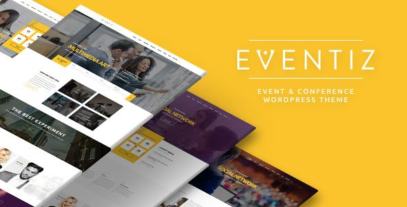 Eventiz - Conference, Event, Festival, Summit Responsive WordPress Theme