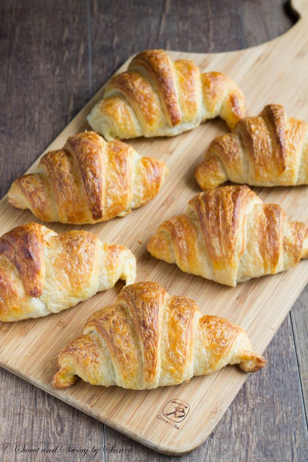 Why bother with homemade croissants? Because they are light and airy goodies with extra buttery crust, cotton soft interior and beautiful golden color! Plus, you get a huge ego boost looking at your beautiful creations.