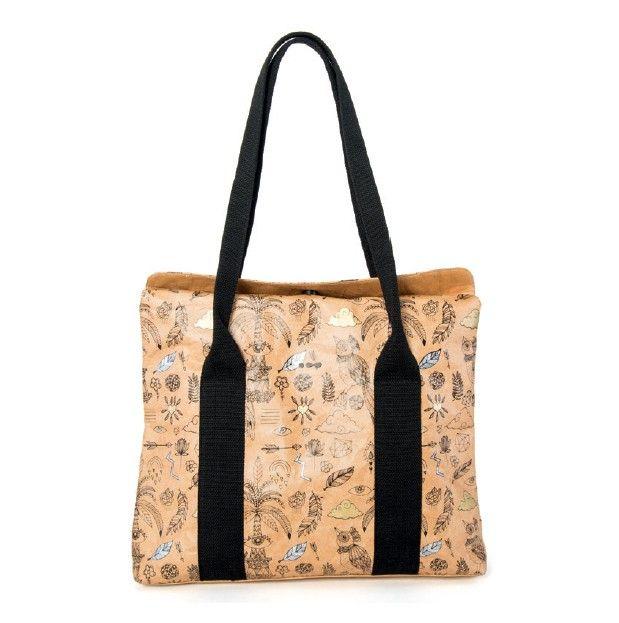 Een fijne, ruime tas van Skunkfunk met een decoratieve print met gouden en zilveren details. ✓ Voor 21.00 uur besteld, morgen in huis.