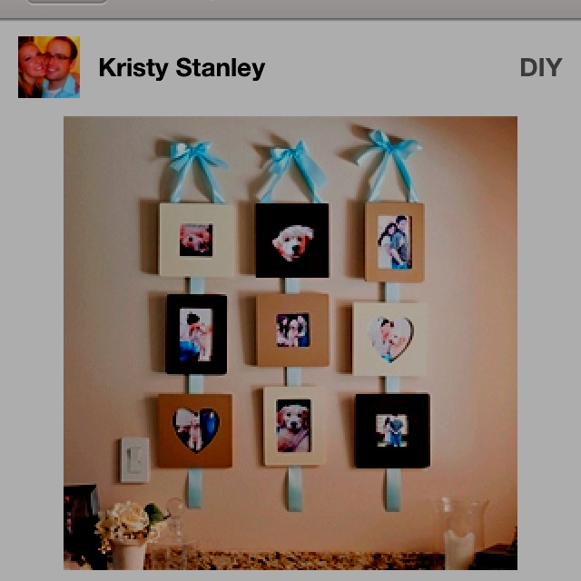 42 best a great way to organize pictures on your wall of for Picture frames organized on walls