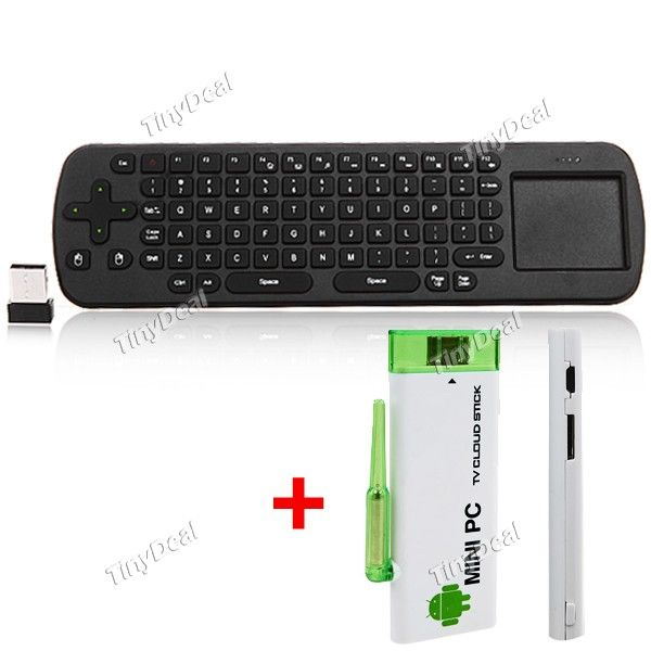http://www.tinydeal.com/it/air-mouse-usb-wireless-keyboard-android-41-tv-box-mini-pc-p-92841.html  Measy RC12 Air Mouse 2.4G USB Wireless Keyboard