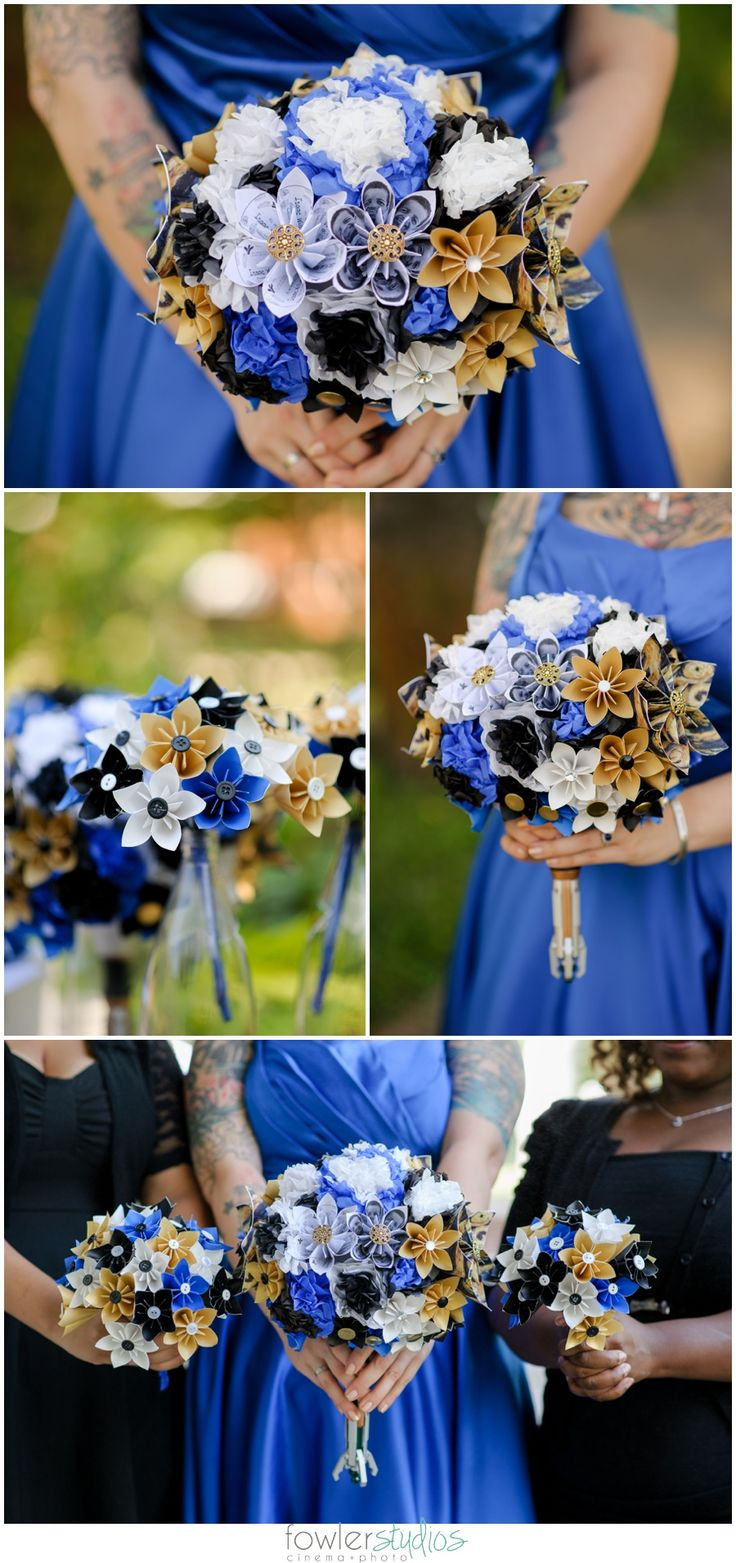 Weddings // Scott + Leila's Doctor Who Wedding in Norfolk complete with paper flowers