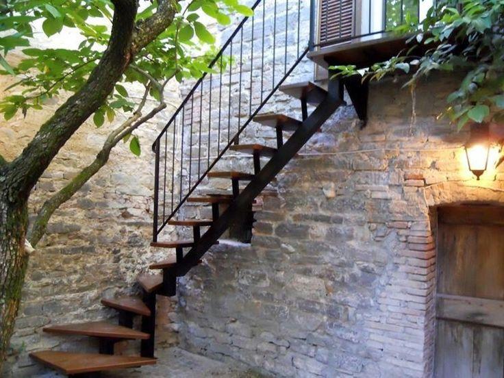 Oltre 25 fantastiche idee su scale esterne su pinterest scale della terrazza paesaggio - Scale esterno prefabbricate ...