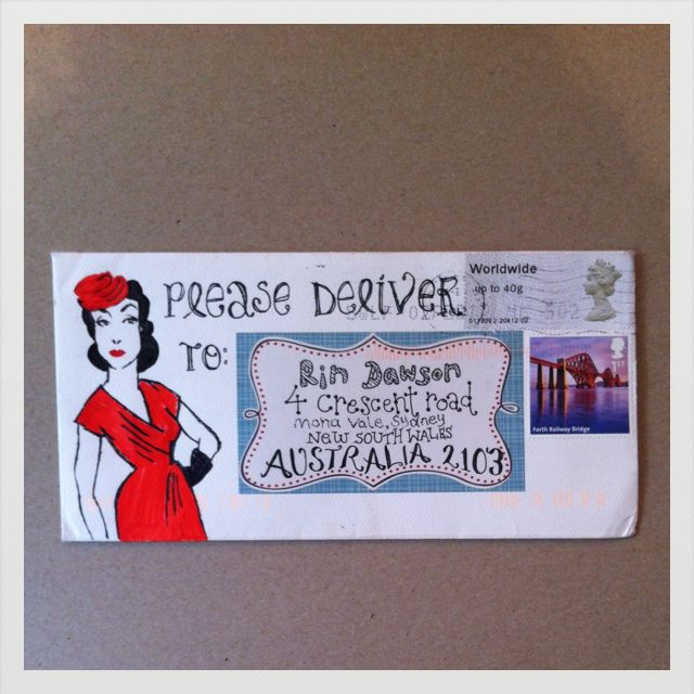 326 best Mail Art   Altered Envelopes images on Pinterest - new letter envelope address format canada