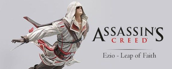 Nueva figura de #AssassinsCreed2 de Ezio Auditore - Salto de Fe