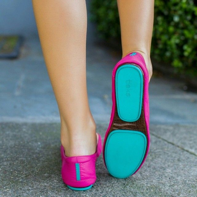 Fuchsia Tieks - Pink Designer Leather Ballet Flats