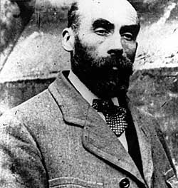 """Henri Landru was a typical """"Bluebeard"""" killer. He would place a matrimonial ad in the paper & when a wealthy widow nibbled at the bait, he would whisk her off her feet. After she had signed over all her worldly possessions to him, the woman would never be seen again. Ten women died at his hands. His last victim's suspicious sister alerted police, who found a notebook in his pocket, containing information on all his victims. He was guillotined in 1922."""