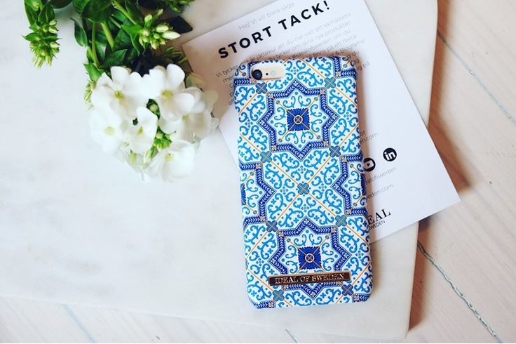 Marrakech by @erikategnebo - Fashion case phone cases iphone inspiration iDeal of Sweden #Mosaic #blue  #fashion #inspo #iphone #pattern #tile #summer #moroccan