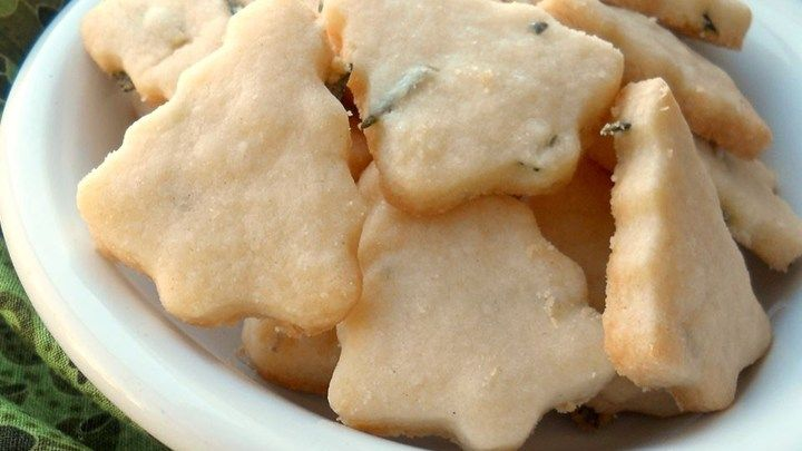 A very Victorian recipe! Some people are put off by the notion of herb cookies, but you'll be pleasantly surprised. The flavor improves with age (best 2 days after),  keeping for about a week.