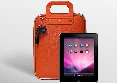 Bombata iPad Case. Officially have an unhealthy obsession with Orange. Blaming @Chronicle Books.